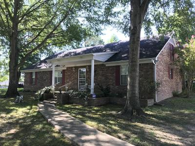 Tate County Single Family Home For Sale: 8004 Looxahoma-Tyro Road