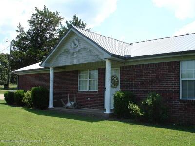 Byhalia Single Family Home For Sale: 668 Wall Hill Farms