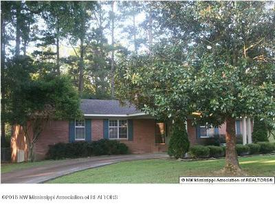 Tate County Single Family Home For Sale: 309 Wooten