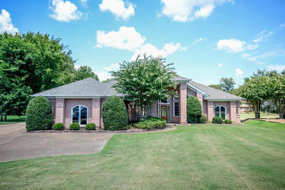 Olive Branch Single Family Home For Sale: 9202 Rosalie Cove
