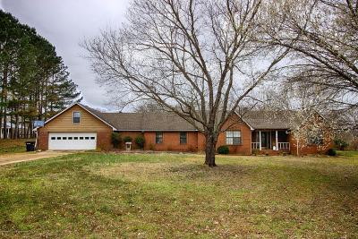 Tate County Single Family Home For Sale: 162 Cottonwood Cove
