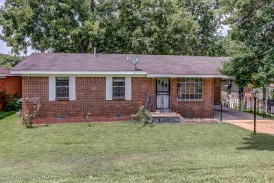 Hernando Single Family Home For Sale: 2745 Panola Street