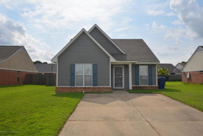 Horn Lake Single Family Home For Sale: 6509 Jamie Drive