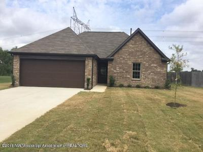 Southaven MS Single Family Home For Sale: $159,900