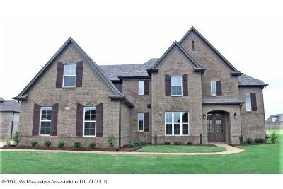 Olive Branch Single Family Home For Sale: 5093 Braham Drive