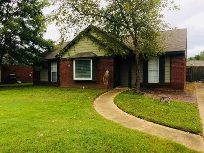 Horn Lake Single Family Home For Sale: 7408 Grace Boulevard