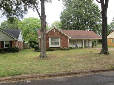 Southaven Single Family Home For Sale: 572 Cypress Drive