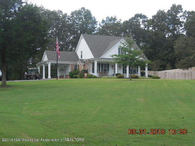 Tate County Single Family Home For Sale: 1454 Graham Road