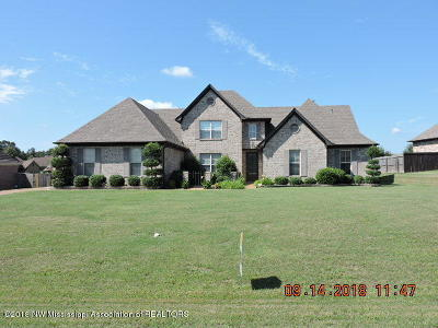 Desoto County Single Family Home For Sale: 7441 Wisteria Dr