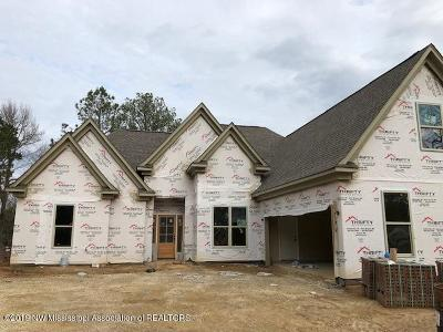 Tate County Single Family Home For Sale: 100 Harvest Road