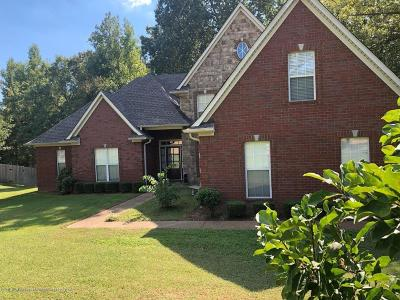 Olive Branch Single Family Home For Sale: 10071 Cypress Plantation Drive