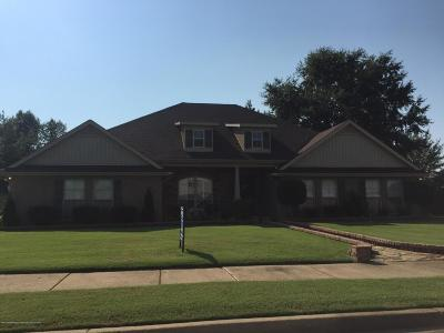 Olive Branch MS Single Family Home For Sale: $254,900