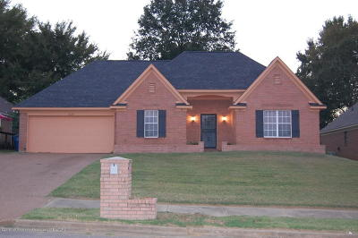 Olive Branch MS Single Family Home For Sale: $155,900