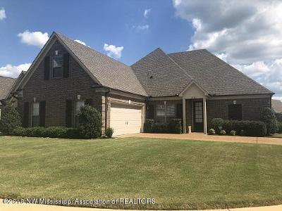 Southaven MS Single Family Home For Sale: $218,000