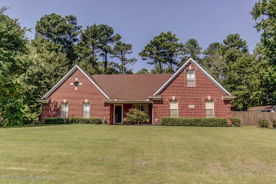 Olive Branch MS Single Family Home For Sale: $209,900