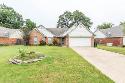 Southaven MS Single Family Home For Sale: $160,000