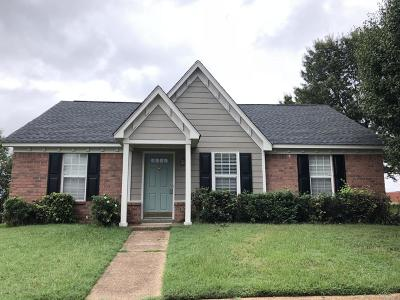 Horn Lake MS Single Family Home For Sale: $109,900