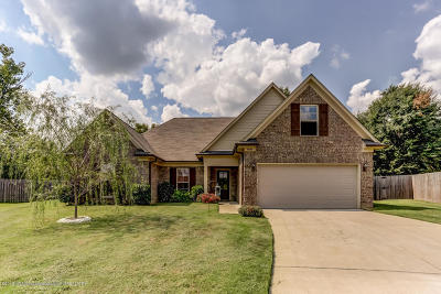 Horn Lake MS Single Family Home For Sale: $161,500