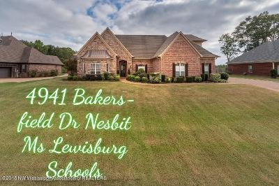 Nesbit MS Single Family Home For Sale: $330,000