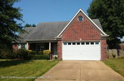 Olive Branch MS Single Family Home For Sale: $123,400