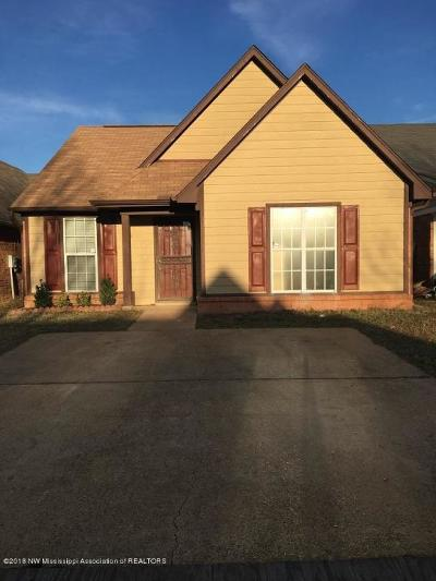 Southaven Single Family Home For Sale: 7634 Lilly Drive