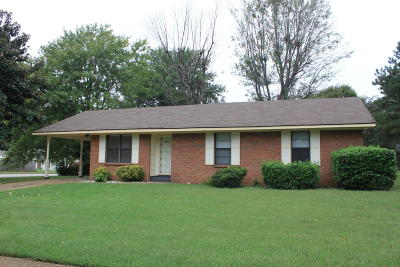 Horn Lake Single Family Home For Sale: 3600 Shadow Oaks Parkway