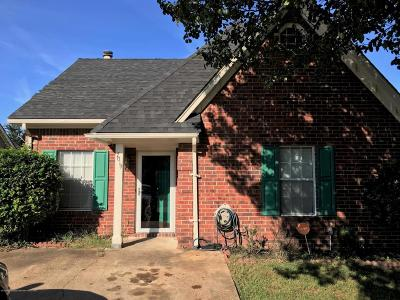 Horn Lake Single Family Home For Sale: 7019 Foxhall Drive