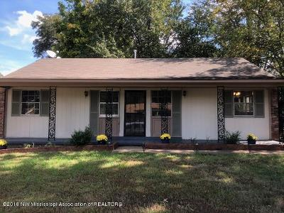 Southaven Single Family Home For Sale: 8338 Dottley Drive