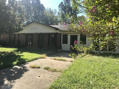 Tate County Single Family Home For Sale: 106 Homestead Lane
