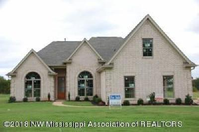 Tate County Single Family Home For Sale: 107 Eagle View Drive
