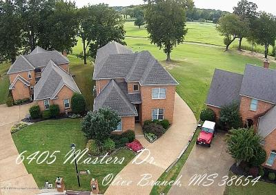 Olive Branch MS Single Family Home For Sale: $299,900
