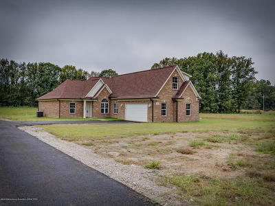 Byhalia Single Family Home For Sale: 321 Dry Field Road