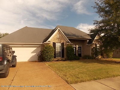 Southaven MS Single Family Home For Sale: $189,900