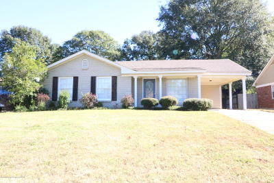 Southaven MS Single Family Home For Sale: $117,900
