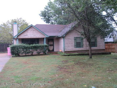 Southaven Single Family Home For Sale: 7282 Kinston Drive