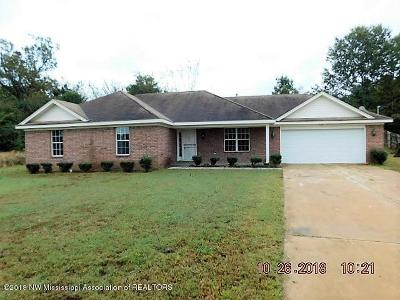 Tate County Single Family Home For Sale: 123 Flower Circle