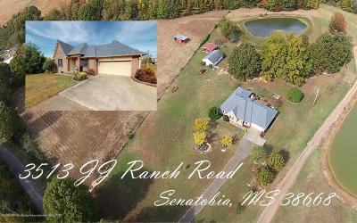 Tate County Single Family Home For Sale: 3513 J J Ranch Road