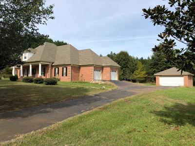 Tate County Single Family Home For Sale: 2105 Looxahoma-Tyro Road