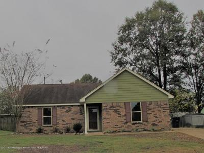 Olive Branch Single Family Home For Sale: 10165 Yates Drive