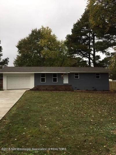 Desoto County Single Family Home For Sale: 5885 Marian Drive