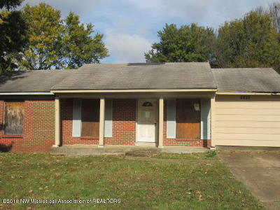 Horn Lake Single Family Home For Sale: 2670 Eastbrook Drive