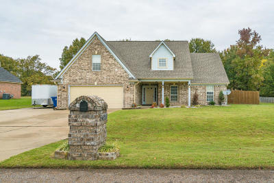 Horn Lake MS Single Family Home For Sale: $220,000