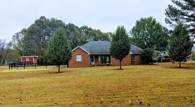 Tate County Single Family Home For Sale: 366 Fonzie Scott Road