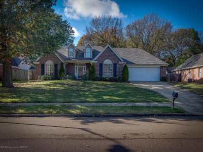 Olive Branch MS Single Family Home For Sale: $167,000