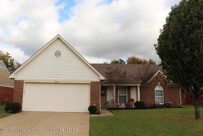 Southaven MS Single Family Home For Sale: $165,500