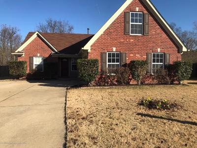 Hernando MS Single Family Home For Sale: $184,900