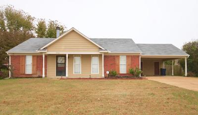 Horn Lake MS Single Family Home For Sale: $118,500