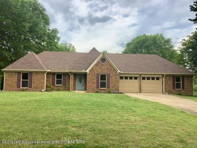 Olive Branch MS Single Family Home For Sale: $255,000