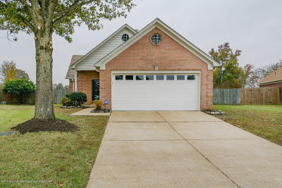 Southaven MS Single Family Home For Sale: $115,000