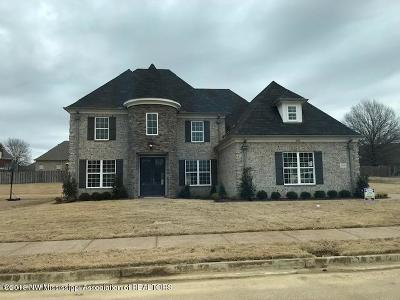 Olive Branch MS Single Family Home For Sale: $377,900